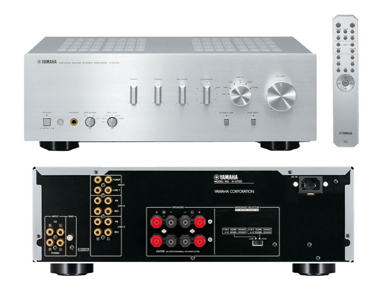 Yamaha a s700 2 channel integrated amplifiers user reviews for Yamaha integrated amplifier review